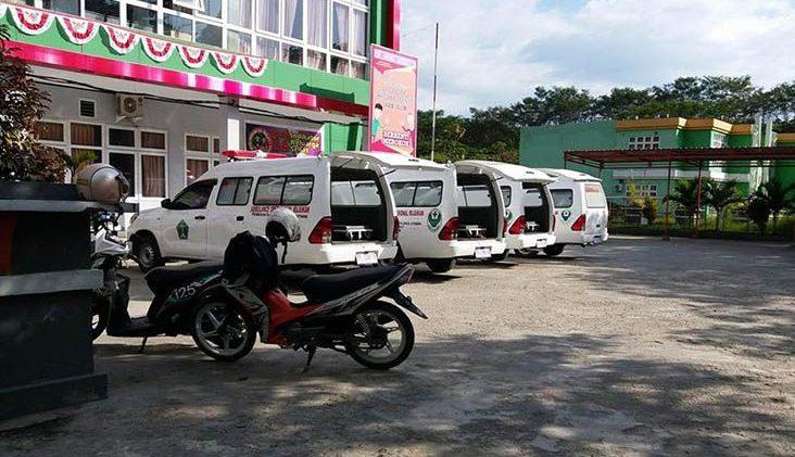 Ambulans gratis yang dianggarkan Dinkes Kolut